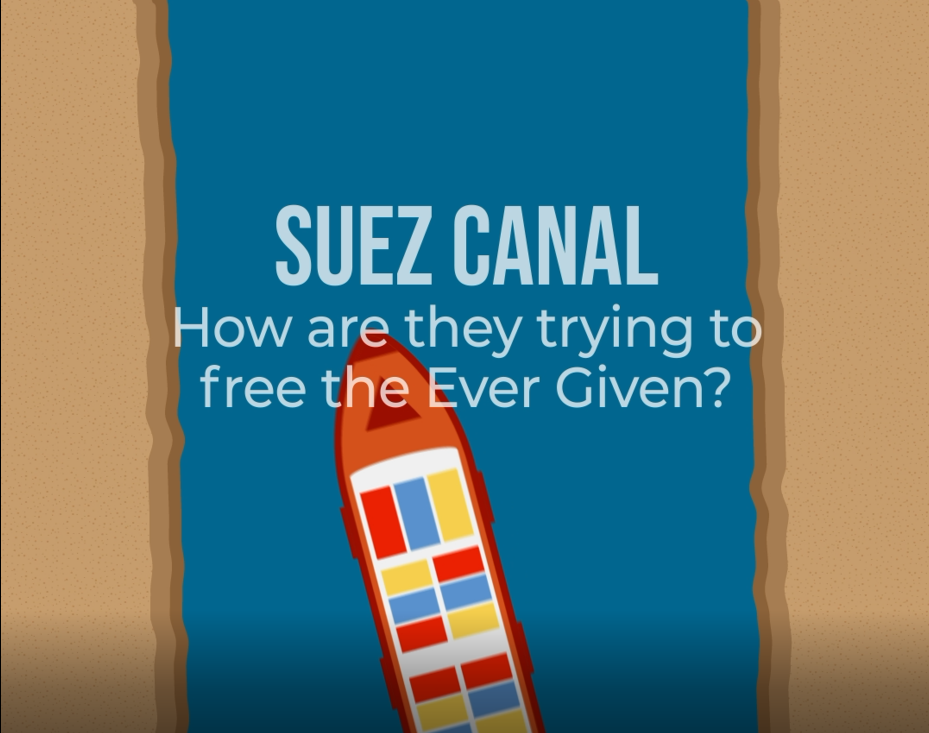 Suez canal- How are they trying to free the ever Given?